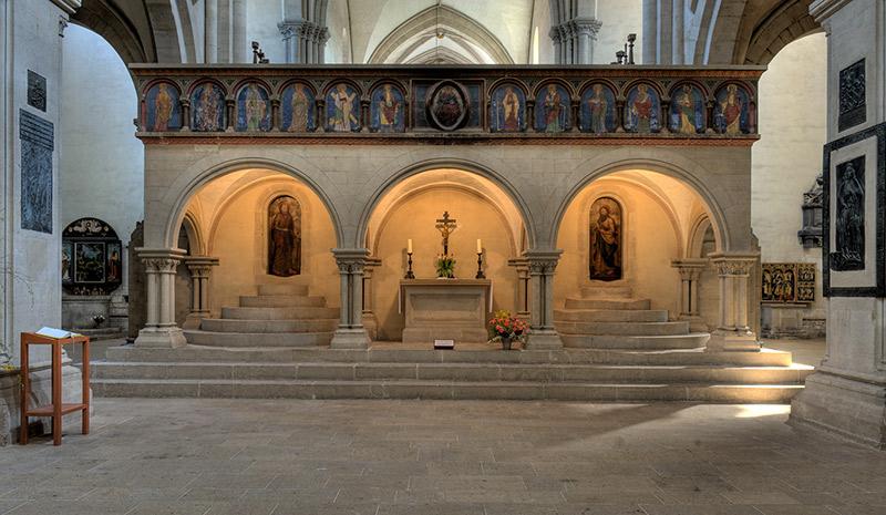 Der Ostlettner im Naumburger Dom