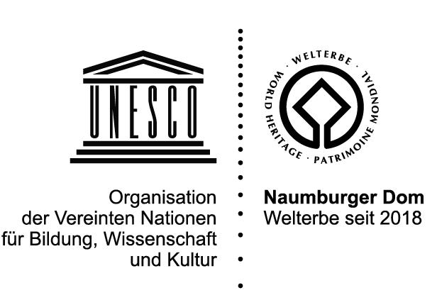Welterbe Logo für den Naumburger Dom